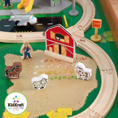 Juego de tren y mesa KidKraft Ride Around