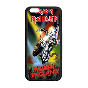 "Pookeb Iron Maiden Poster For Iphone6 Plus Case Cover Shell Artistic Design Cover Case for iPhone6 Plus 5.5"" Protective Cover TPU (Laser Technology) Personalized Pattern Iphone6 Plus Case Great Gifts For Friends Or Families"