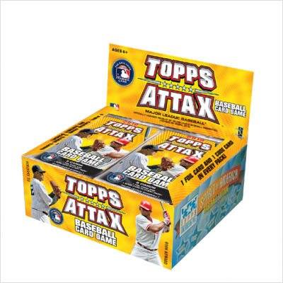 Baseball Booster - Topps 2010 Attax MLB Major League Baseball Booster Box