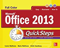 Microsoft Office 2013 QuickSteps, 3rd Edition Front Cover