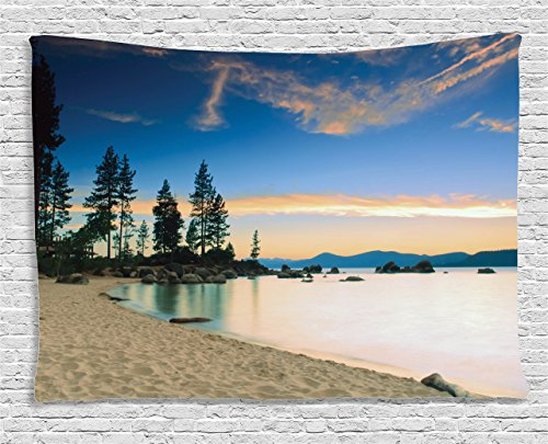 Ambesonne Collection Paradise Sunrise Tapestry