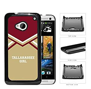 linJUN FENGTallahassee City Girl School Spirit Cheerleading Uniform HTC one M7 Hard Snap on Plastic Cell Phone Cover
