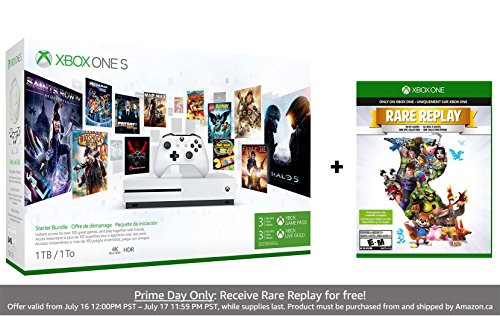 Xbox One S 1TB Console - Starter Bundle Only $229 (Was $299.99) #PrimeDay