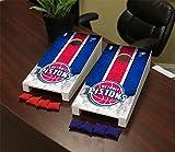 Victory Tailgate Detroit Pistons NBA Desktop Mini Cornhole Game Set