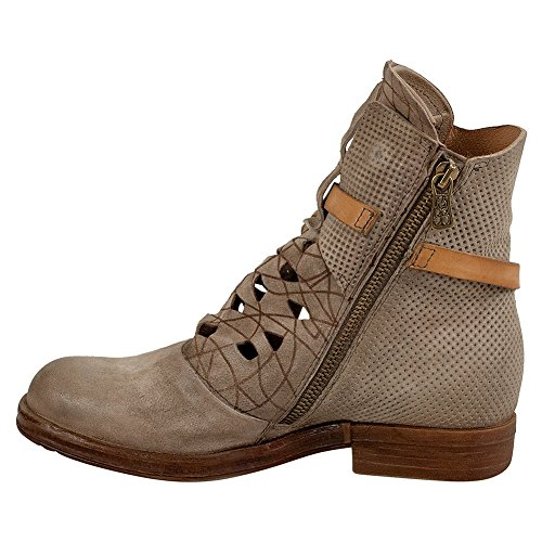 As98 Varuka Bottines Femme Taupe
