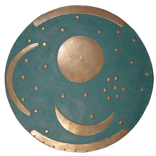 Resin Cast Sundial - Sky Disc of Nebra Plaque