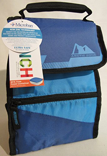 Arctic Zone Insulated Container Blue Black