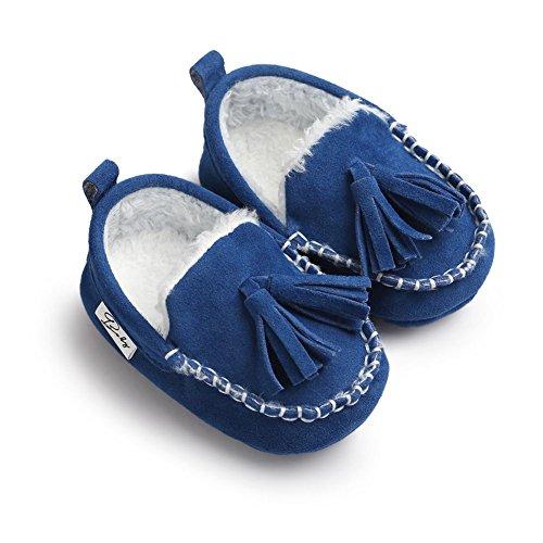 Moresave - botas de nieve Bebé-Niños azul marino