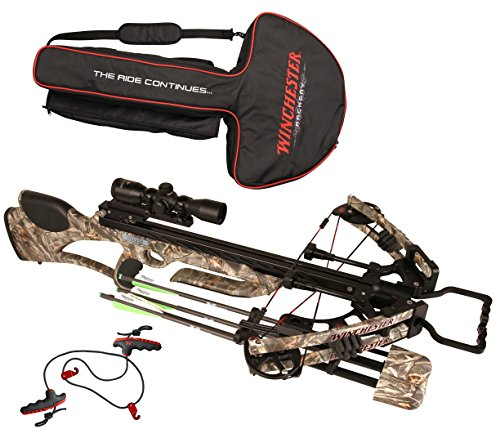 Winchester Blaze Crossbow in Reaper Buck Camo with 3X Illuminated Reticle Scope