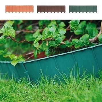Beetumrandung Rasenkanten Zaun 5,80 m Farbe Grün