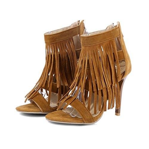 Comfort Carrera de Spring de Boda Aguja para Mujer de Oficina de y la la Cuero Summer Tacón Tacones de Un sintético y Vestido de Zapatos Partido Noche de xURq04nwPP