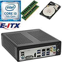 E-ITX ITX350 Asrock H270M-ITX-AC Intel Core i3-7100 (Kaby Lake) Mini-ITX System , 8GB Dual Channel DDR4, 2TB HDD, WiFi, Bluetooth, Pre-Assembled and Tested by E-ITX