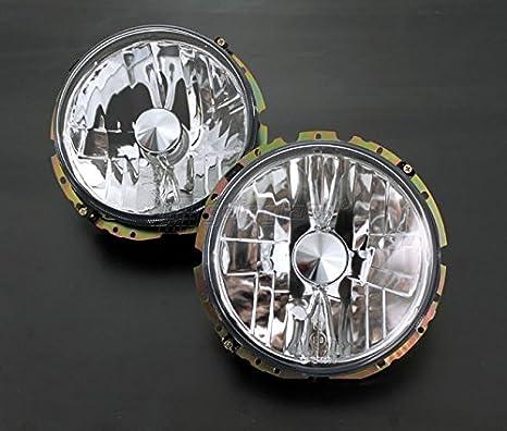 Klarglas Chrom Scheinwerfer Set Auto