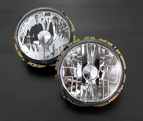 Klarglas Chrom Scheinwerfer Set