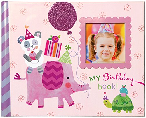 C.R. Gibson Gibby and Libby Keepsake Photo Book, Birthday Girl