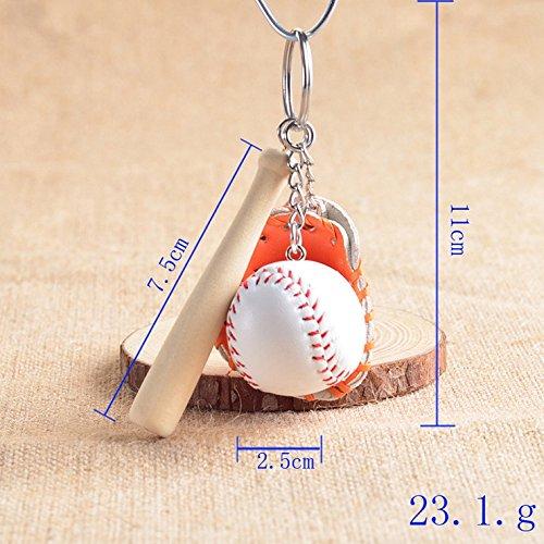 Primi Creative bolso colgante Mini bate de béisbol guante ...