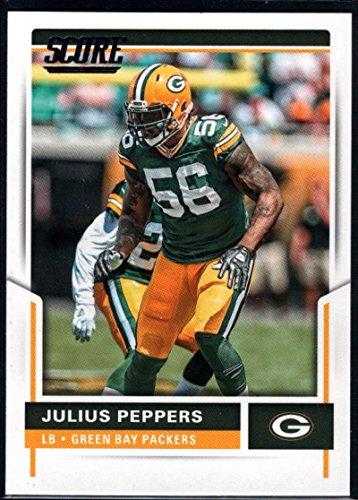 Football NFL 2017 Score #82 Julius Peppers #82 NM+ Packers
