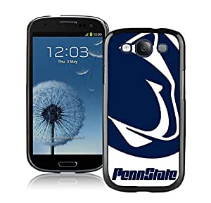 Galaxy S3 Case,Ncaa Big Ten Conference Football Penn State Nittany Lions 1 Black For Samsung Galaxy S3 i9300 Case