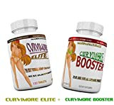 CURVIMORE ELITE COMPLETE STARTER KIT ☀ Advanced Breast Enlargement, Butt Enhancement, Bust Enhancement, Booty Enhancement, Lip Plumping & Skin Tightening Pills – Bigger Breasts, Hips & Glutes. 1-MONTH