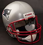 New England Patriots Deluxe Replica Football Helmet Full Size -- (New Version)