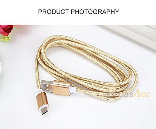 Sensational Amazon Com Usb Data Charger Cable Nylon Braided Wire Metal Plug Wiring Digital Resources Funapmognl
