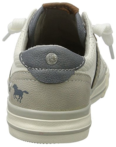 Mustang Unisex-Kinder 5024-302-1 Low-Top Weiß (1 weiß)
