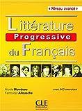 Litterature Progressive Du Francais: Livre Avance (B2/C1) - Nouvelle Couve