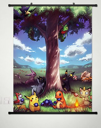 Home-Decor-Anime-Pocket-Monster-Pokmon-Poster-wall-Scroll-236-X-354-Inches-011