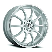 "Konig Lightning White Wheel with Machined Lip (16x7""/5x100mm)"