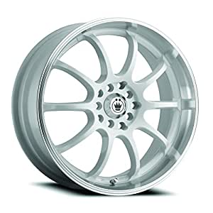 "Konig Lightning White Wheel with Machined Lip (18x8""/5x114.3mm)"
