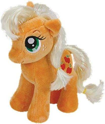 TY Beanie Babies My Little Pony Applejack Stuffed Collectible Plush Toy NEW