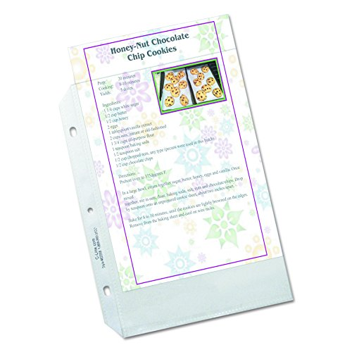 C-Line Top Loading Heavyweight Poly Sheet Protectors
