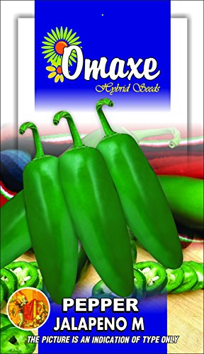 Omaxe Seeds Pepper Jalapeno, 40 Seeds (Multicolor, Pack of 3) (B00LC0N022) Amazon Price History, Amazon Price Tracker