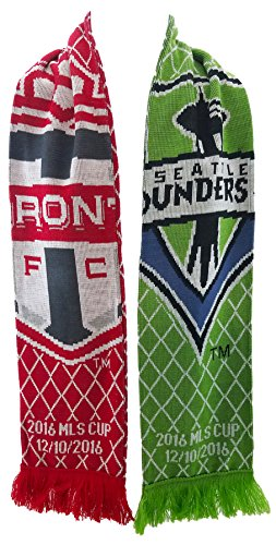 Seattle Sounders vs Toronto FC 2016 MLS Cup Scarf