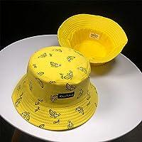 Yuanbbo Sombreros Unisex Bucket, Sombrero Bucket, ala Ancha, Protección UV, Sun Hat, Protección Solar, UV