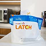 Baby Bottles Steriliser Bags Travel Holiday Convenient Bag Munchkin Latch (1x Bag)