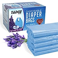 400 Count Tadge Goods Baby Disposable Diaper Bags