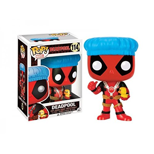 Funko POP! Marvel Bath Time Deadpool Exclusive 114 Vinyl Bob