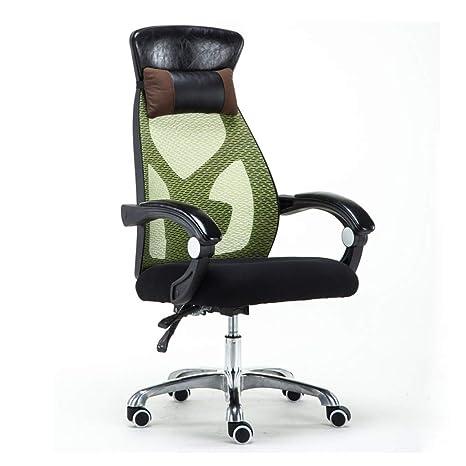 Amazon.com: Silla de escritorio de oficina, silla giratoria ...