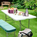 FORUP 6ft Table, Folding Utility