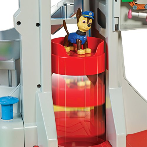 PAW Patrol My Size Lookout Tower with Exclusive Vehicle, Rotating Periscope & Lights & Sounds by Nickelodeon (Image #6)