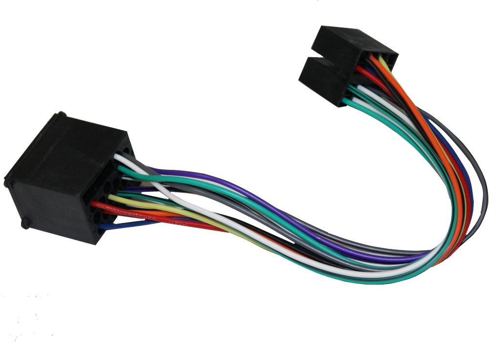 Adaptador con ISO Cables enchufes para autoradio AERZETIX