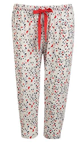 Jockey - Pantalón de pijama - para mujer White Melange
