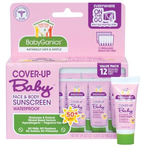 Babyganics Cover Up bébé Crème