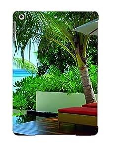 Hot Design Premium JaCDqgG466vjYDW Tpu Case Cover Ipad Air Protection Case (beach Terrace )