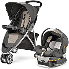Chicco Viaro Travel System Teak