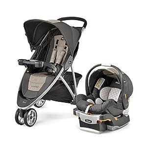 Chicco Viaro Stroller Travel System, Teak