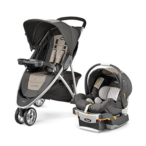 3 Wheel Baby Stroller Travel System - 9