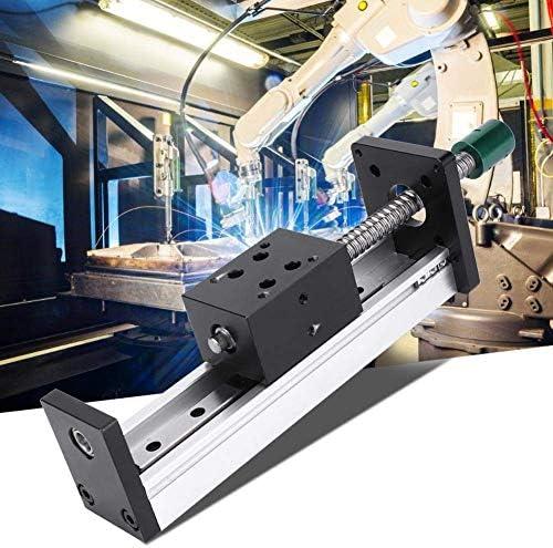 LZP-PP Linearführungsschiene, 400mm Aluminiumlegierung Linearführungsschiene Slide-Kugelgewindebewegungstisch Automation Industry (1610)