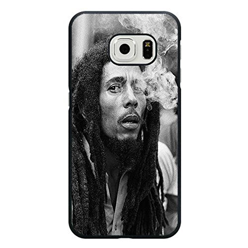 Coque Samsung Galaxy S6 Edge Cover Shell Stylish Smoking Style Reggae Music Bob Marley Wailing Wailers Phone Case Cover Originator Singer Personalized,Cas De Téléphone